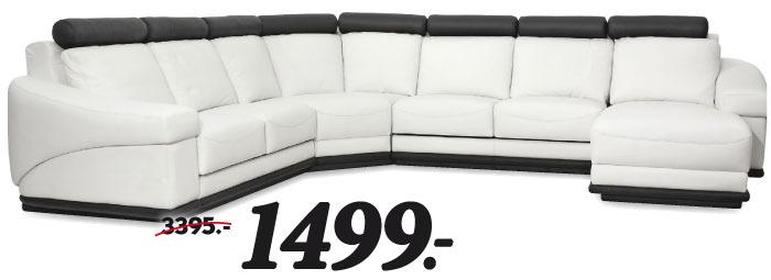 ruime comfortabele hoekbank leverbaar in verschillende bekledingen en kleuren waaronder stof. Black Bedroom Furniture Sets. Home Design Ideas